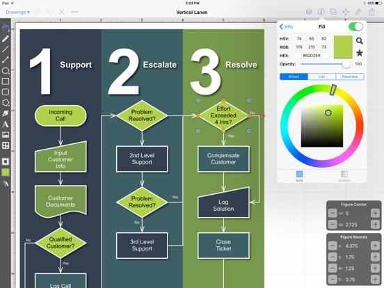 TouchDraw Screenshots