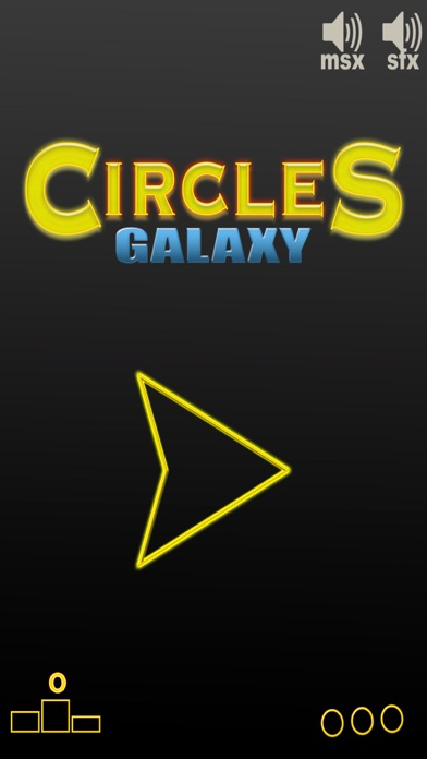 Circles galaxy Screenshot