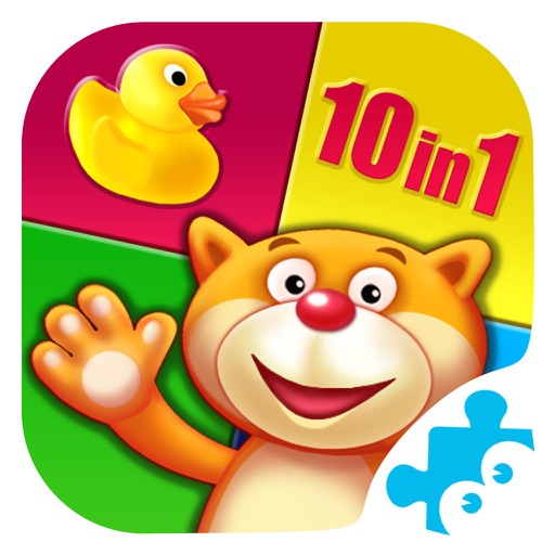 Playroom: 10 educational games for kids & toddlers