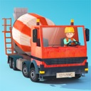 Kleine Bauarbeiter - Bagger und Laster für Kinder