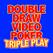 Double Draw Video Poker Triple Play