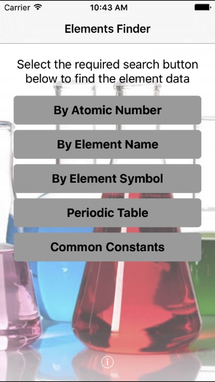 Elements finder by stealth productions limited elements finder screenshot 0 urtaz Image collections