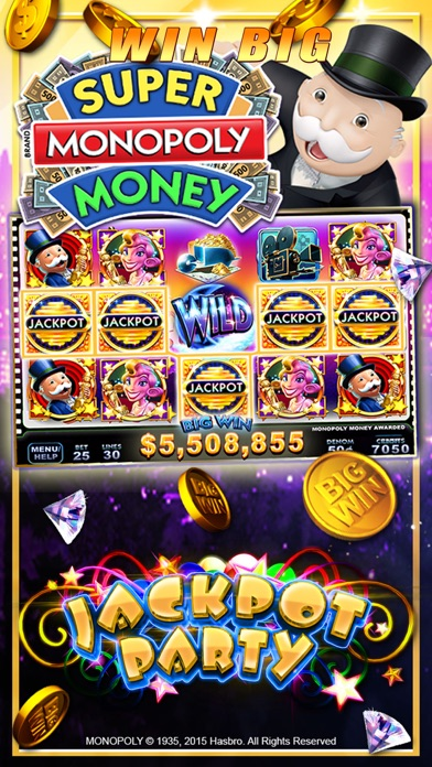 jackpot party casino - slots itunes