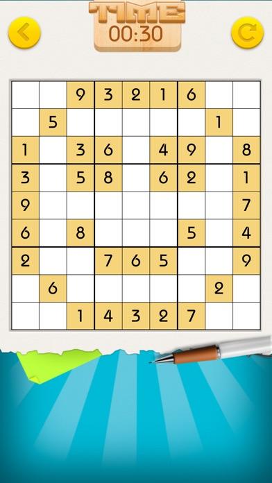 Sudoku Number Place Screenshot