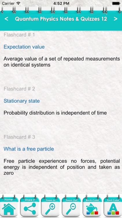 Quantum Physics 3600 Flashcards & Exam Study Notes by Fathia Najar