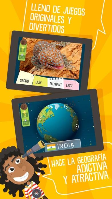 Atlas 3D Nios  Juegos para Aprender Geografa en el App Store