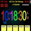 Sticky Digital Alarm Clock