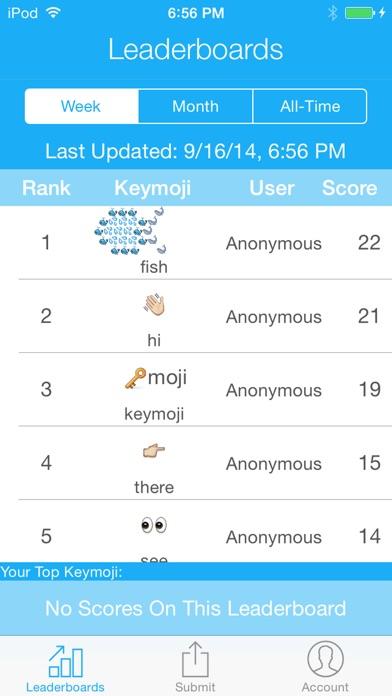 Keymoji Premium Emoji Keyboard Screenshots