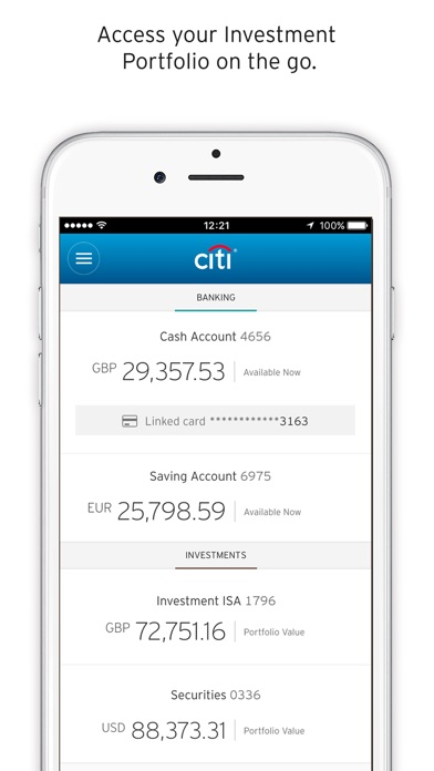 Citibank does not charge you a fee for using the Citi Mobile app or the Mobile Check Deposit service. However,you must have a Web-enabled cell or smartphone to use the Citi Mobile app or Mobile Check Deposit service and charges from your wireless carrier may apply. Citibank is not responsible for products and services offered by other companies.