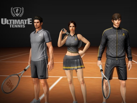 Ultimate Tennis Screenshots
