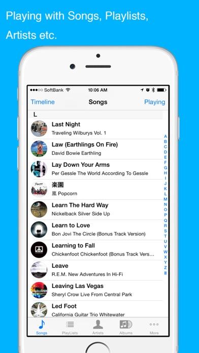 TwitSong-share the music! Screenshots