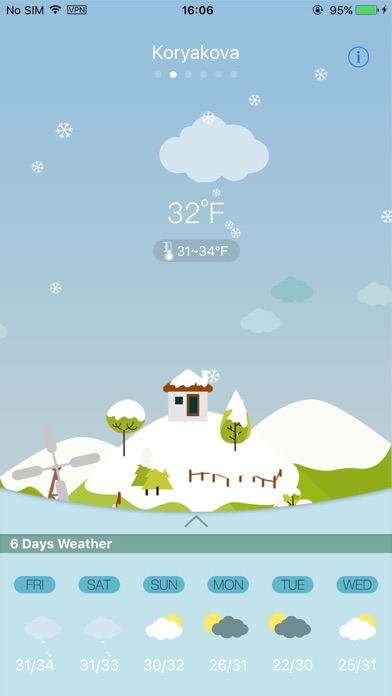 Weather Lite+Скриншоты 1