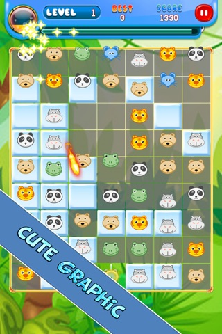 Happy Forest Cute Animal Puzzle screenshot 1