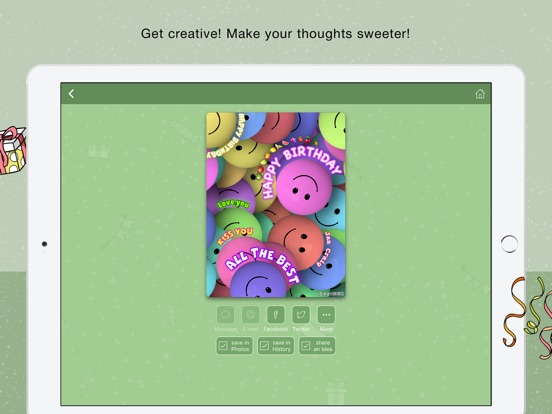 BirthDay cards free greeting cards on the App Store – Birthday Cards for Ipad
