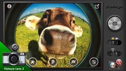 download Fisheye Pro - Camera with Film, LOMO Lens, Editor apps 0