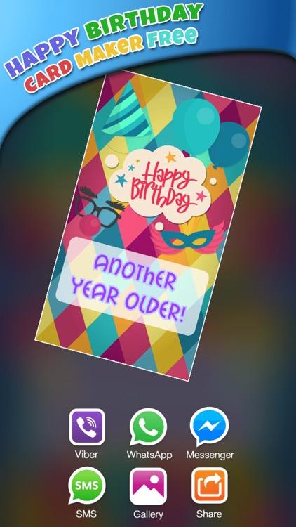 Happy Birthday Card Maker Free Bday Greeting Cards by Marko Markovic – Birthday Card Maker App