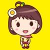 Yolk Girl Sticker - 蛋黃女孩可愛貼紙包