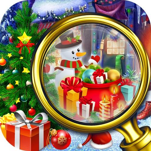 Christmas Room Hidden Object - Solve Puzzle iOS App