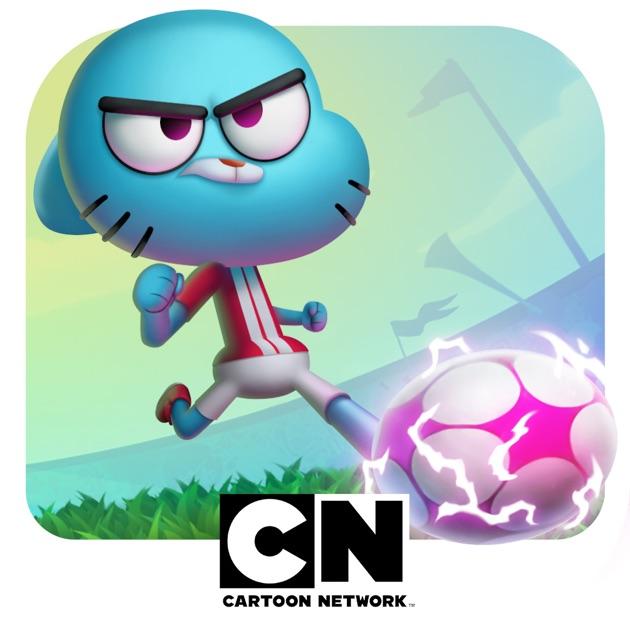 Cartoon Characters App : Cartoon network superstar soccer goal multiplayer