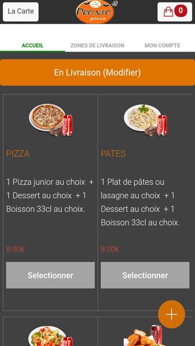 Pronto Pizza ArcueilCapture d'écran de 2