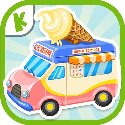 Ice Cream Truck:(Mandarin) Educational Puzzle Game iOS App