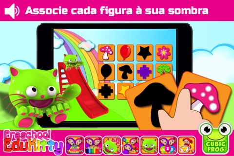 Toddler Educational Learning Games-EduKitty Free screenshot 4