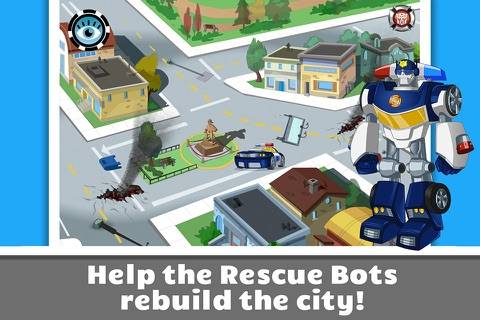 Transformers Rescue Bots: Save Griffin Rock screenshot 4