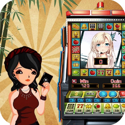 Girl Slot Machine: Huge Fortune, Huge Coins, Huge Icon