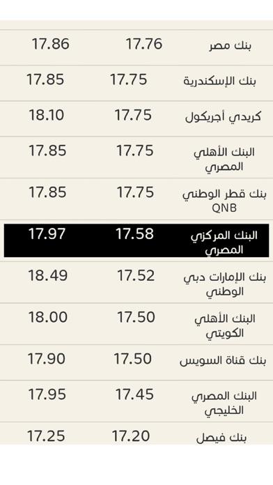 أسعار الدولار مصرلقطة شاشة2