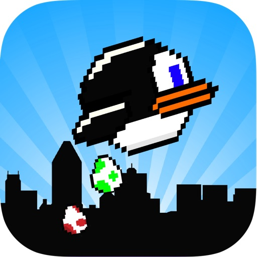 Penguin Popper Bird - Flying Wings and Splashy Eggs iOS App