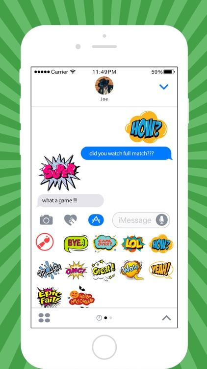 Bubble Sticker Maker - Comic Stickers for iMessage by Rezoan Shuvro