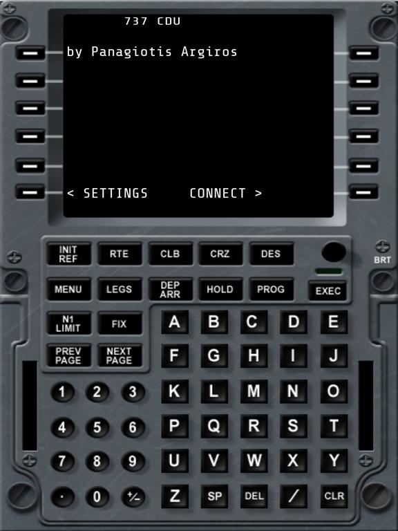 737 CDU - Control Display Unit для iPad