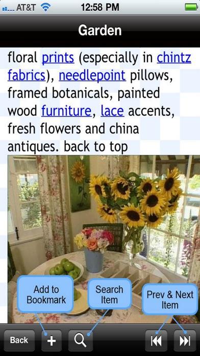 Home Decor Interior Design Glossary On The App Store