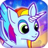 My Little Rainbow Unicorn & Pony Rush - FREE Girls Game