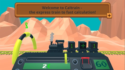 Caltrain - Express Train to Fast Calculation Screenshot