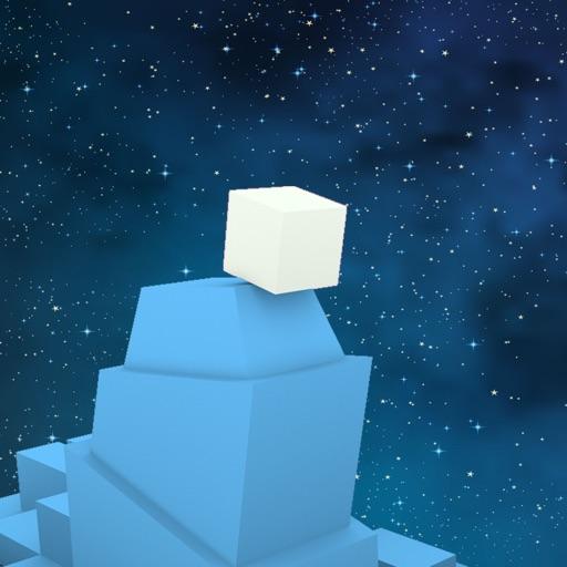 Cube Space Hop iOS App