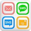 メール定型文&SNS&SMS-テンプレートで帰宅や遅刻連絡を最速に-有料版
