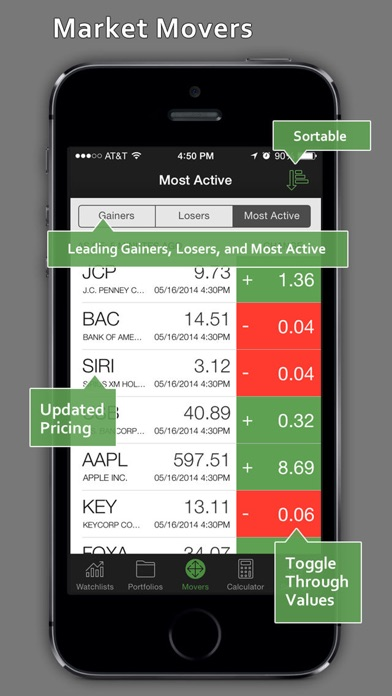 Key Bank Stock Quote Stockwatch  Portfolio Tracking & Stock Quotes On The App Store