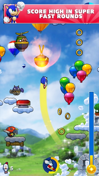 Screenshot #8 for Sonic Jump Fever