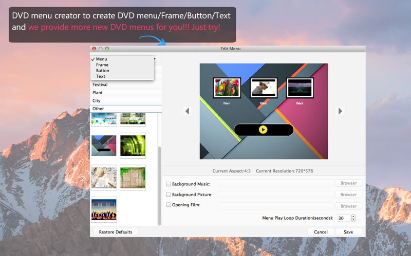 Screenshot #3 for Aiseesoft DVD Creator - Burn MP4 to DVD