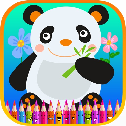Animals Coloring Book for kids and Preschool iOS App
