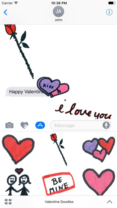 download Valentine Doodles apps 2