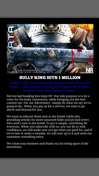 Bully King Magazine review screenshots