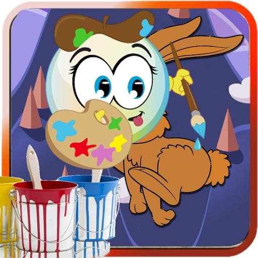 Paint Games Rabbit Version iOS App