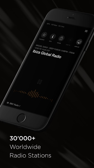 Screenshot #2 for VOX Radio - 30'000+ Live FM Online Radio Stations