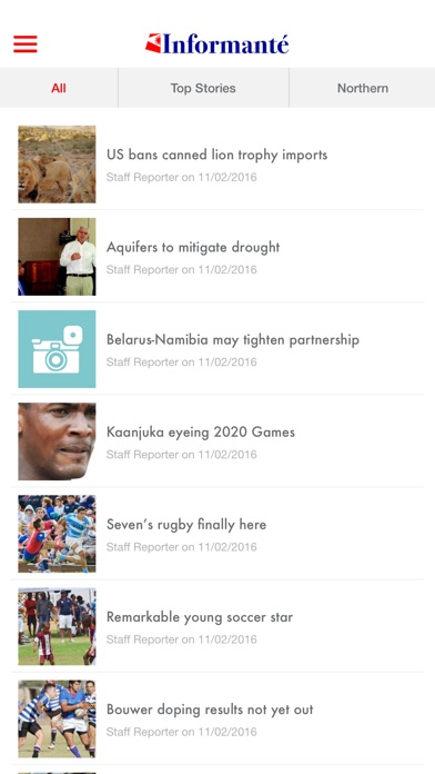 the namibian informante on the app store