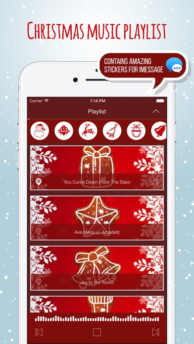 download Christmas Play List Holiday Music Radio and Themes apps 0