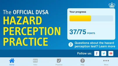 download The Official DVSA Hazard Perception Practice appstore review