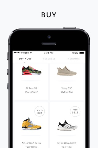 GOAT – Shop Sneakers screenshot 1
