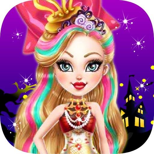 Hallween Party-Princess Makeover iOS App